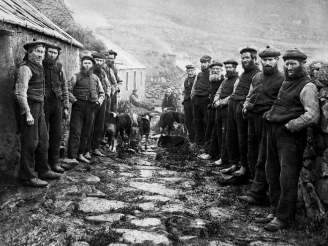The remaining 36 St Kilda inhabitants were evacuated at their own request from the settlement about 40 miles west of the Outer Hebrides