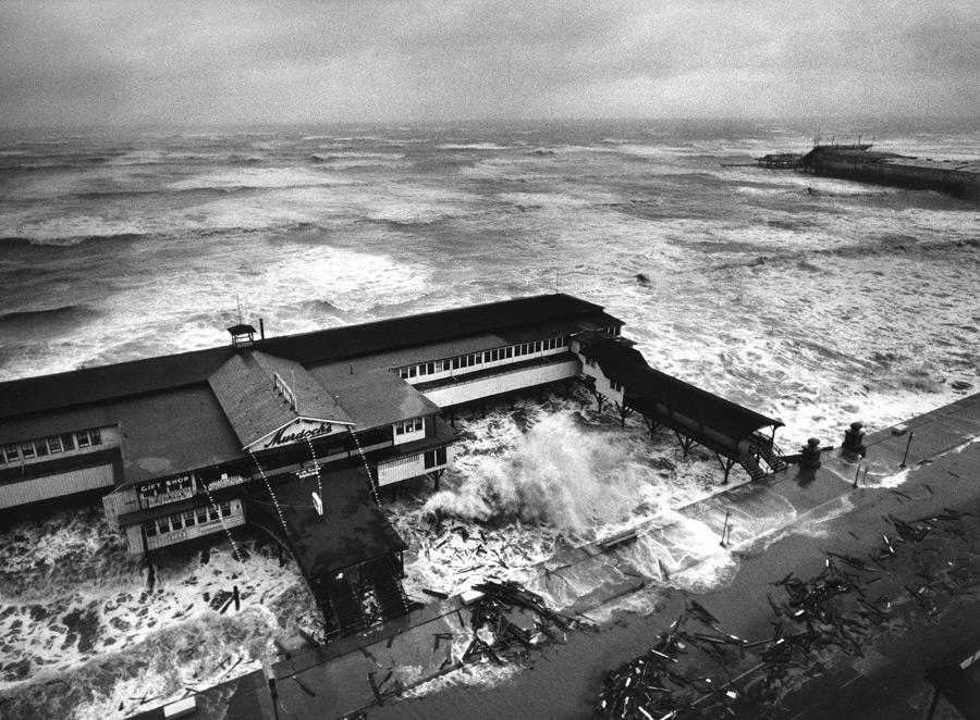 Hurricane Carla, Galveston, TX, 1961